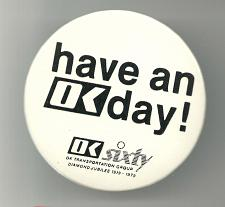 Buy Have an OK Day Transport Group Collectible Pinback Button Pin Vintage