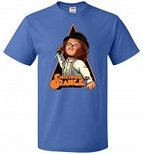 Buy Chuckywork Orange Unisex T-Shirt Pop Culture Graphic Tee (3XL/Royal) Humor Funny Nerd