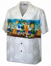 Buy Men's Aloha Shirt Island Cocktail Party #440-3864