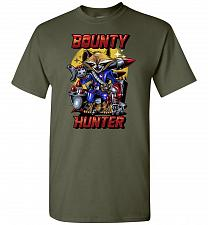 Buy Bounty Hunter Rocket Raccoon Unisex T-Shirt Pop Culture Graphic Tee (XL/Military Gree