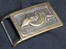 Buy Solid Brass Shriner Mason Masonic Belt Buckle Vintage