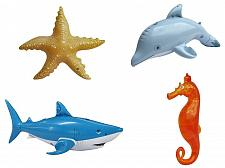 Buy 4pcs Inflatable shark starfish dolphin SEAHORS Ocean life pool party