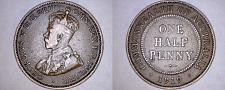 Buy 1919 Australian Half (1/2) Penny World Coin - Australia