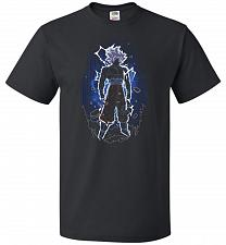 Buy Shadow Of The Ultra Instinct Unisex T-Shirt Pop Culture Graphic Tee (5XL/Black) Humor