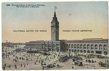Buy Water Gate Ferry Building San Francisco California POSTCARD