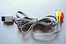 Buy Genuine Original Nintendo Wii RVL-009 RCA Video Cable AV official oem