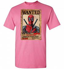 Buy Deadpool Wanted Poster Unisex T-Shirt Pop Culture Graphic Tee (XL/Azalea) Humor Funny
