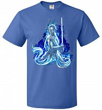 Buy Awaken Unisex T-Shirt Pop Culture Graphic Tee (2XL/Royal) Humor Funny Nerdy Geeky Shi