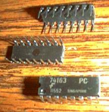Buy Lot of 25: Fairchild 74163PC