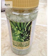 Buy Healing Waters Chamomile Green Tea Bath Salts 19.1 oz