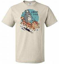 Buy The Neighbor's Antics Unisex T-Shirt Pop Culture Graphic Tee (L/Natural) Humor Funny