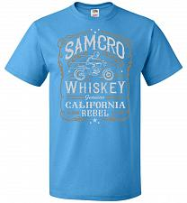 Buy Sons of Anarchy Samcro Whiskey Adult Unisex T-Shirt Pop Culture Graphic Tee (L/Pacifi