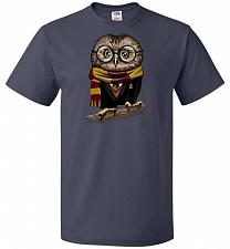 Buy Owly Potter Unisex T-Shirt Pop Culture Graphic Tee (5XL/J Navy) Humor Funny Nerdy Gee