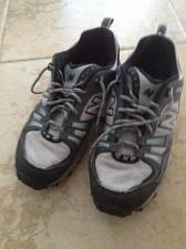 Buy mens new balance all terrain grey sneakers size 11.5 beautiful condition