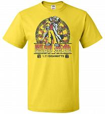 Buy Back To Japan Unisex T-Shirt Pop Culture Graphic Tee (4XL/Yellow) Humor Funny Nerdy G