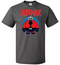 Buy Ant-Max Unisex T-Shirt Pop Culture Graphic Tee (S/Charcoal Grey) Humor Funny Nerdy Ge