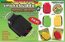 Buy YELLOW Smoke Buddy JR. Personal Smoking Air Purifier Charcoal Filter SmokeBuddy