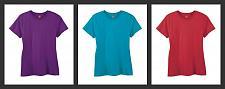Buy 3 Hanes 4.5 oz Womens NANO-T Lightweight - Premium Size Large Red Teal Purple