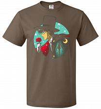 Buy Knight Of The Moonlight Unisex T-Shirt Pop Culture Graphic Tee (L/Chocolate) Humor Fu