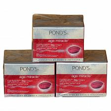 Buy Pond's Age Miracle Cell ReGEN Anti Aging Day Cream 25 grams Pack of 3