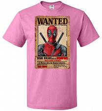 Buy Deadpool Wanted Poster Youth Unisex T-Shirt Pop Culture Graphic Tee (Youth M/Azalea)