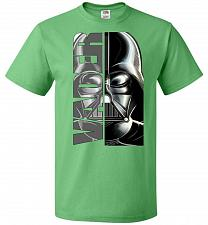 Buy Vader Youth Unisex T-Shirt Pop Culture Graphic Tee (Youth XL/Kelly) Humor Funny Nerdy