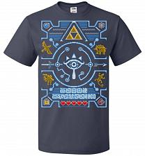 Buy Legend Of Zelda Ugly Sweater Design Adult Unisex T-Shirt Pop Culture Graphic Tee (L/J