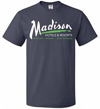 Buy Billy Madison Hotels & Resorts Adult Unisex T-Shirt Pop Culture Graphic Tee (2XL/J Na
