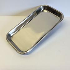 """Buy New! """"Easy to Wipe Clean"""" STAINLESS STEEL Cigarette Rolling Tray 9"""" X 4 5/8"""" RYO"""