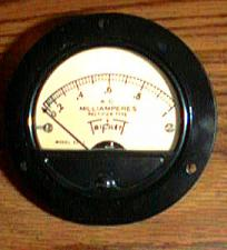 Buy TRIPLETT Model 321-T A.C. Milliamperes Rectifier Gauge