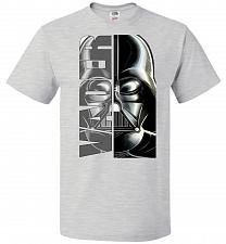 Buy Vader Youth Unisex T-Shirt Pop Culture Graphic Tee (Youth M/Ash) Humor Funny Nerdy Ge