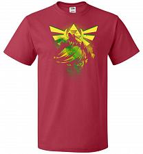 Buy Hero of Time Unisex T-Shirt Pop Culture Graphic Tee (4XL/True Red) Humor Funny Nerdy