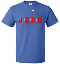 Buy Air Jack Unisex T-Shirt Pop Culture Graphic Tee (XL/Royal) Humor Funny Nerdy Geeky Sh