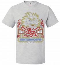 Buy Bjs Gentleghost's Club Adult Unisex T-Shirt Pop Culture Graphic Tee (L/Ash) Humor Fun