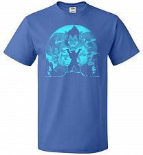 Buy Saiyan Sized Secret Unisex T-Shirt Pop Culture Graphic Tee (L/Royal) Humor Funny Nerd