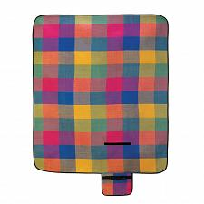 Buy 15110U - Fiesta Plaid Blanket Folding Picnic Mat Vinyl Back