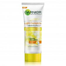 Buy Garnier Light Complete White Speed Brightening Facial Foam Cleanser 100ml