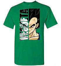 Buy Vegeta Unisex T-Shirt Pop Culture Graphic Tee (XL/Turf Green) Humor Funny Nerdy Geeky