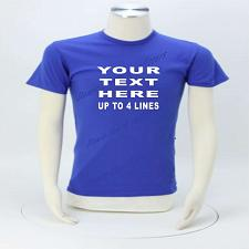 Buy Personalized T-shirt Custom Print (Lot #1300) Small - 6X *