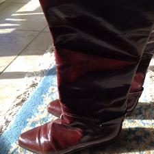 Buy Vero Cuoio Leather Woman's riding Boots Size 9 beautiful condition
