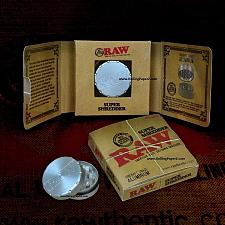 Buy RAW Rolling Papers Brand HERB/Tobacco GRINDER/Super Shredder/Aircraft Aluminum