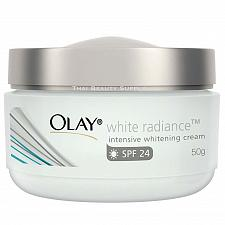 Buy Olay White Radiance Intensive Whitening Cream Skin Whitening SPF 24 50 grams