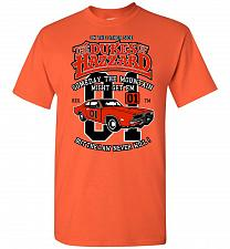 Buy Dukes of Hazzard General Lee Unisex T-Shirt Pop Culture Graphic Tee (2XL/Orange) Humo