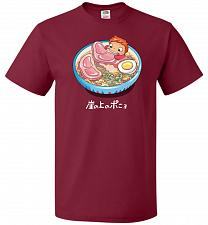 Buy Noodle Swim Unisex T-Shirt Pop Culture Graphic Tee (4XL/Cardinal) Humor Funny Nerdy G