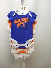 Buy BOISE STATE UNIVERSITY 3 Piece Infant Baby Creeper Sleep And Play Sets Size 0-3M