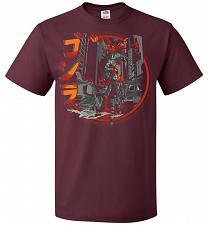 Buy Path Of Destruction Unisex T-Shirt Pop Culture Graphic Tee (S/Maroon) Humor Funny Ner