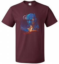 Buy Throne Wars Unisex T-Shirt Pop Culture Graphic Tee (4XL/Maroon) Humor Funny Nerdy Gee