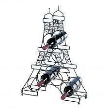 Buy *15803U - French Style Eiffel Tower Metal Wine Rack 6 Bottle Holder