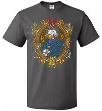Buy Scrooge McDuck A Miserly Portrait Adult Unisex T-Shirt Pop Culture Graphic Tee (4XL/C
