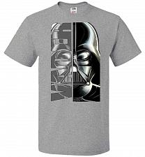Buy Vader Youth Unisex T-Shirt Pop Culture Graphic Tee (Youth S/Athletic Heather) Humor F